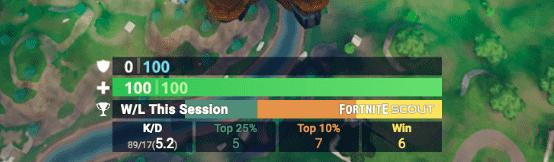 add fortnite scout stats