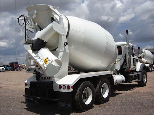 concrete mixing truck cleaners