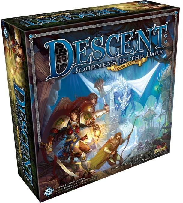 Descent Journeys 2nd Edition - Box