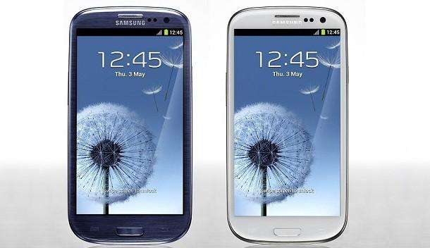 Samsung Galaxy SIII - Colours