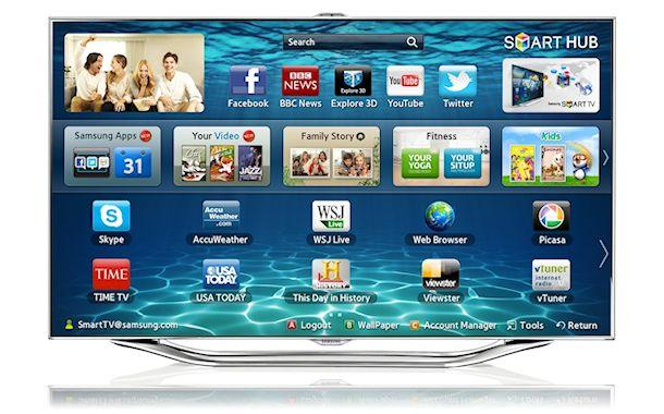 Samsung Series 8 TV - Front