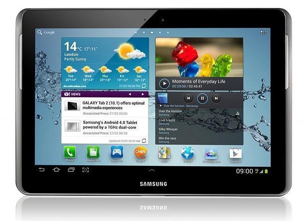 Samsung Galaxy Tab 2 - Front
