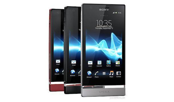 Sony Xperia P - Colours
