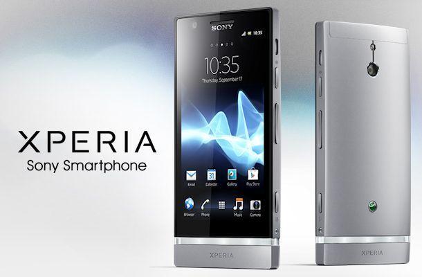 Sony Xperia P - Header