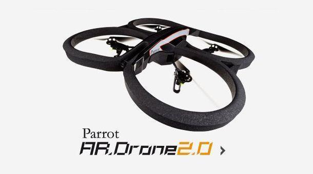 A.R.Drone 2 - Header