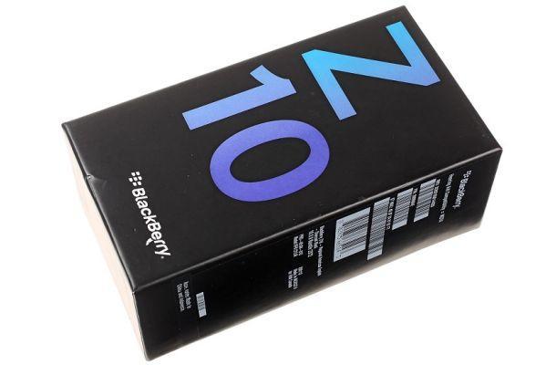 BlackBerry Z10 - Box