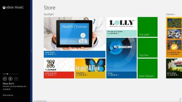 Windows 8 - Split Screen