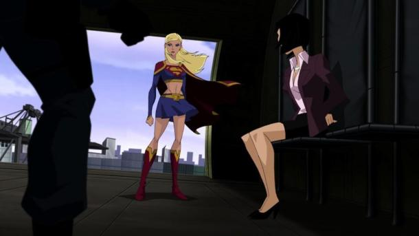 Supergirl-Lois-Lane- superman unbound