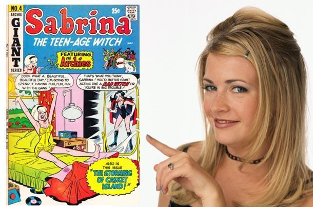 sabrina witch comic book tv series
