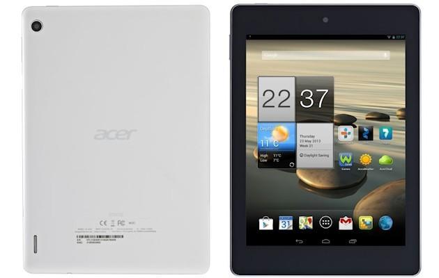 Acer Iconia A1 - Back Front