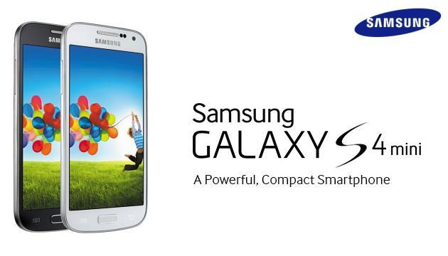 Samsung Galaxy S4 Mini - Header