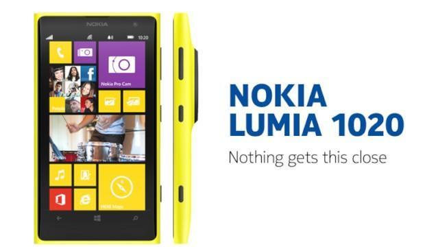 Nokia Lumia 1020 - Header