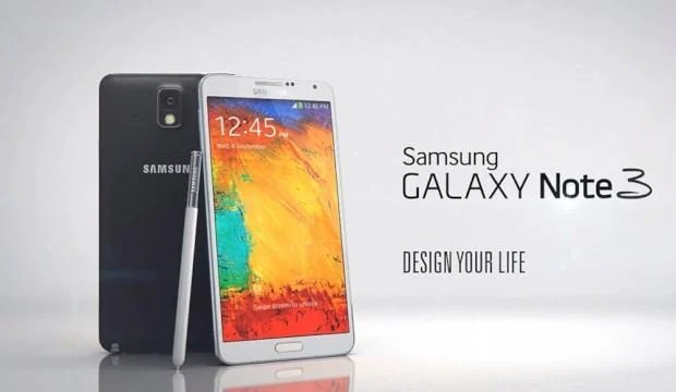 Samsung Galaxy Note 3 - Header