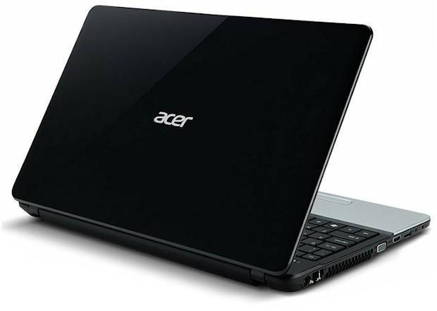 Acer Aspire E1 - Back