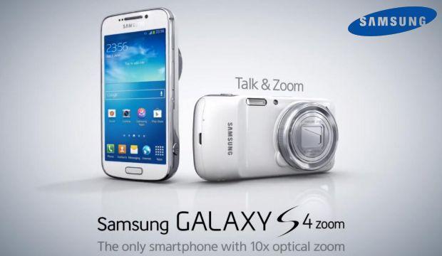 Samsung Galaxy S4 Zoom - Header