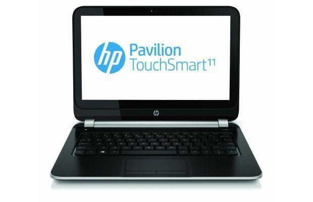HP Pavilion TouchSmart 11 - Header