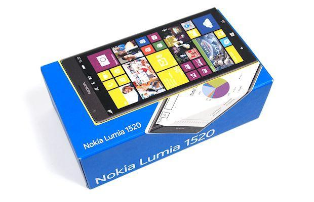 Nokia Lumia 1520 - Box
