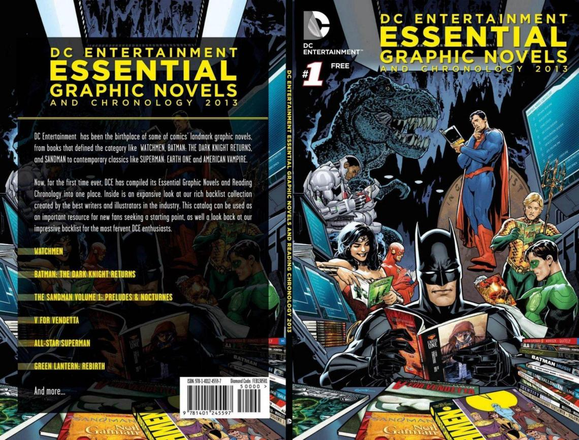 DC's iEssential 25 Graphic Novels