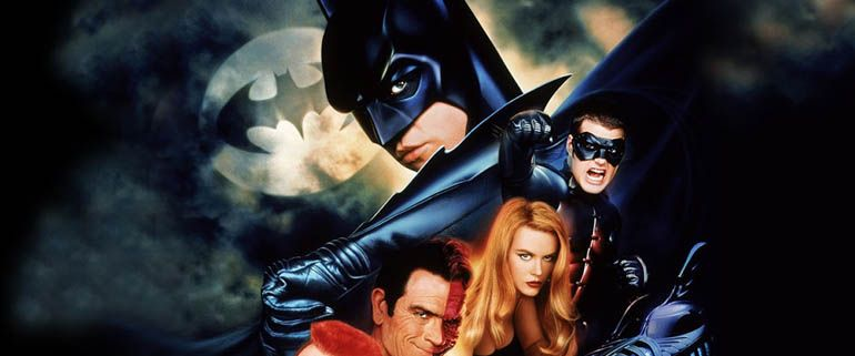 Ah, the cursed Batman Forever. Joel Schumacher managed to take the dark and gloomy world created by Tim Burton and turn it into comic book dribble. The best thing about this threequel is that it isn't Batman and Robin. Well, that and Seal's Kiss by a Rose. Ta da ta da da da...