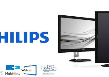 Philips 272P4 LCD Monitor-Header