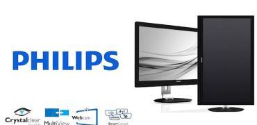 Philips 272P4 LCD Monitor-Header