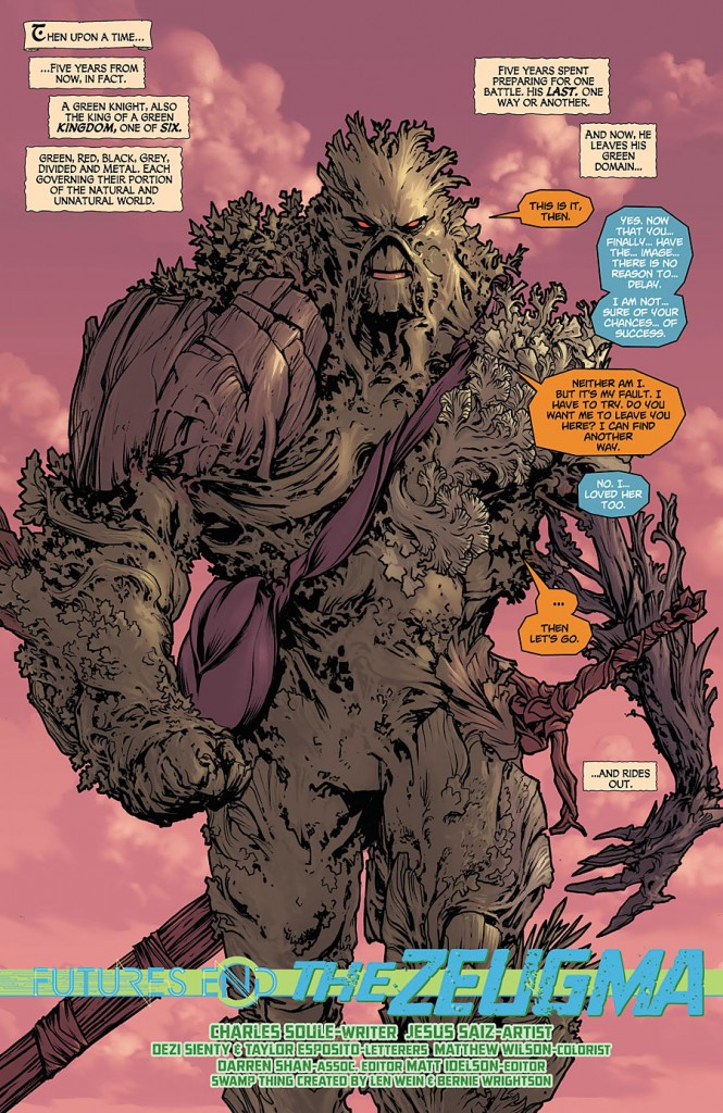 SWAMP THING FUTURES END #1