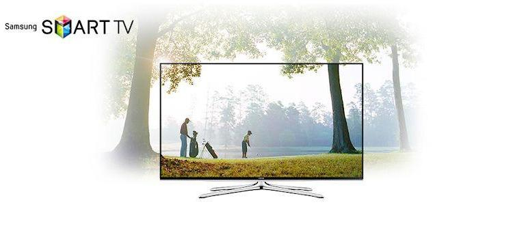 Samsung Series 6 40' LED 3D TV-Header
