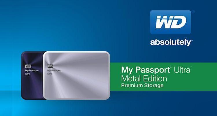 WD My Passport Ultra Metal-Header