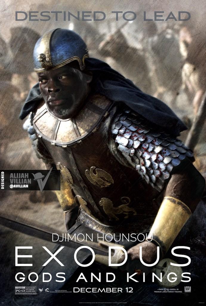 Djimon Hounsou - Exodus Gods and Kings