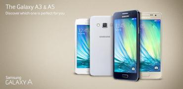 Samsung Galaxy A3, A5-Header