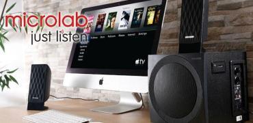 MicroLab M300BT Speakers-Header