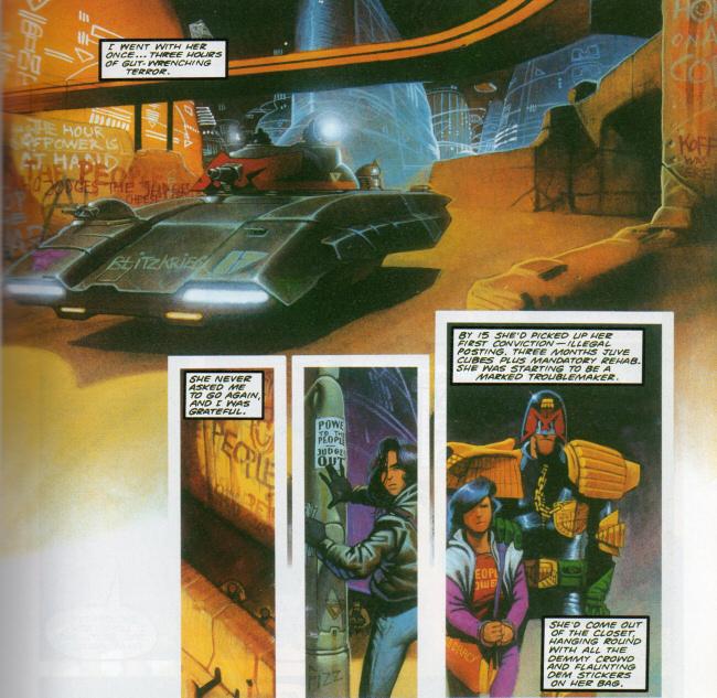 Judge Dredd Comic Book Review