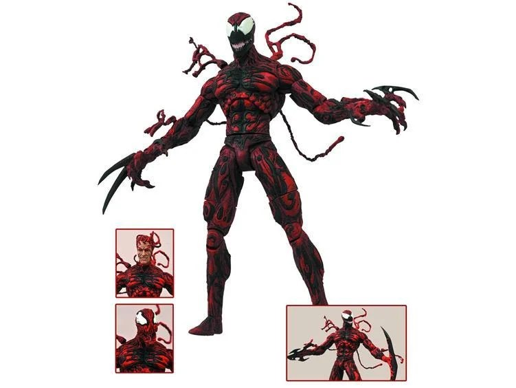 Marvel Select Carnage Figure Review