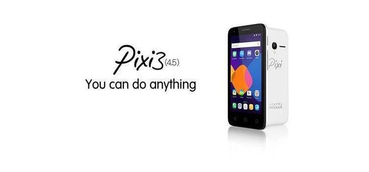 Alcatel OneTouch Pixi 3 (4.5) - Header