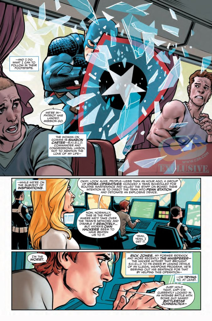 Captain America Steve Rogers #1 preview