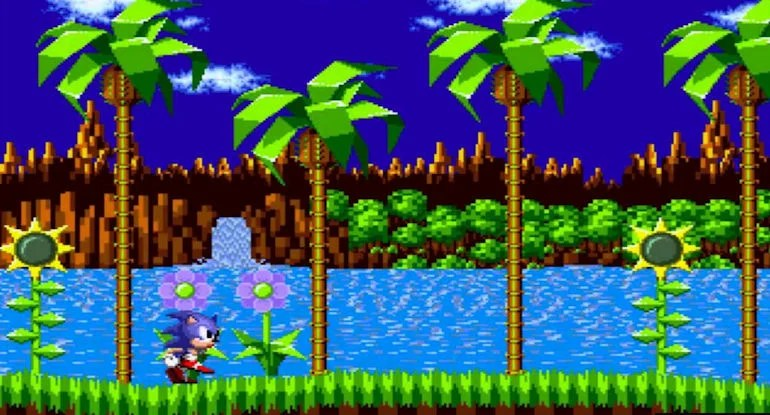 Game Hall of Fame - Sonic In Game