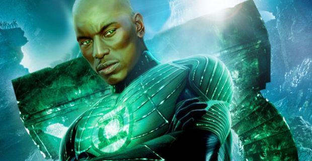 Green Lantern Tyrese Gibson