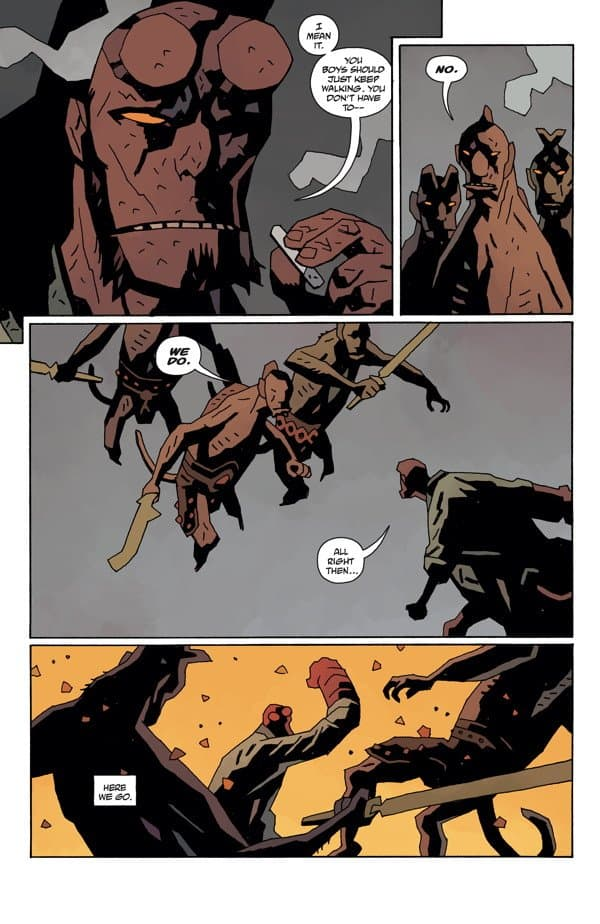 Hellboy In Hell #9 The Spanish Bride comic book review