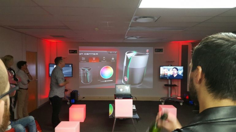 Mweb Doom and MSI Vortex Launch - event