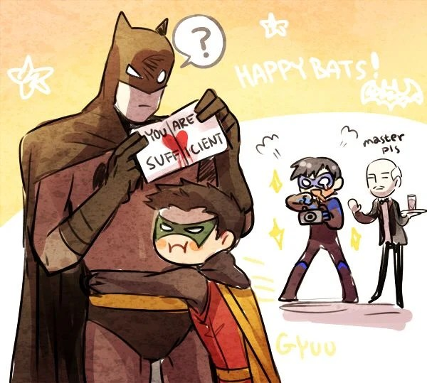 Batman as a Father