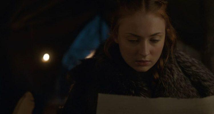 Sansa's Secret Letter - Game of Thrones