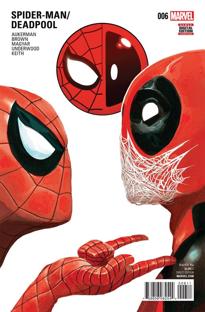 Spider-Man Deadpool #6 comic book cover