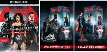 Batman V Superman: Dawn of Justice releases on Blu-ray and DVD on July 15, 2016.