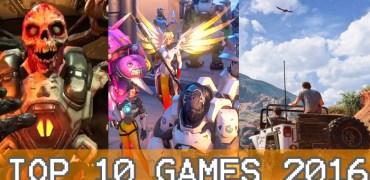 Top 10 Games 2016