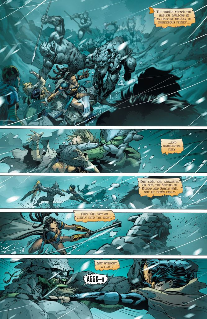 Odyssey Of The Amazons #2 Comic Book Review
