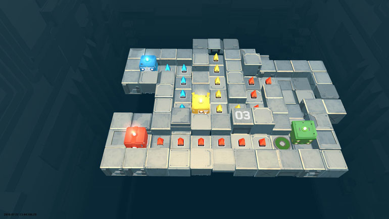 Death Squared Review – A Calming Cooperative That Explodes Into Action