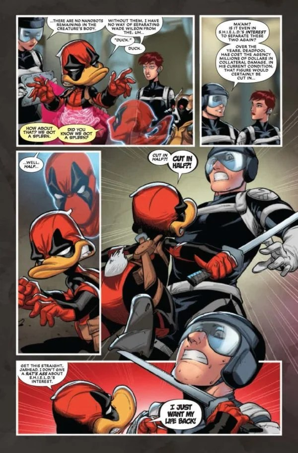 Deadpool The Duck #5 Review