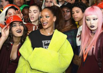 Fenty X Puma Rihanna Autumn/Winter '17 Collection Hits the Runway in Paris