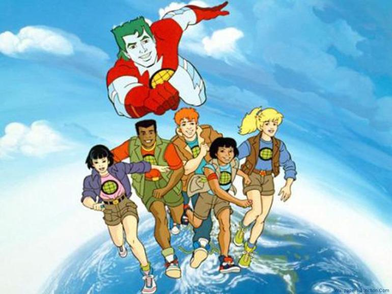 Six Seasons Of 'Captain Planet' Will Be Available For Digital Download Shortly
