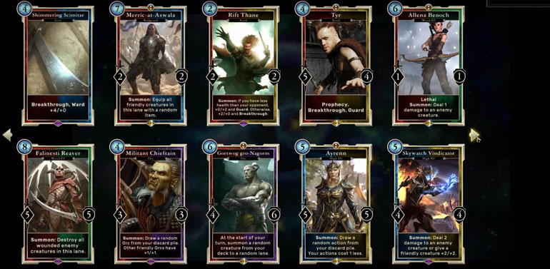 Elder Scrolls: Legends Game Review - An Interesting CCG Set In The Elder Scrolls Universe